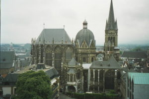 Aachen-cathedral-german-lesson
