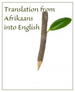 Language Translation Services in South Africa; Afrikaans to English - the language tree services