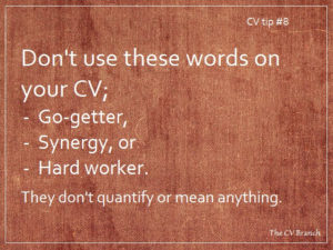 Professional CV writing service, CV tips
